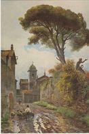 Museo Di Roma - Vicolo Sterrato Ora Vicolo   -  Par Roesler Franz (1845-1907) - Paintings
