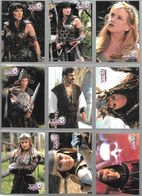 BF42 - SERIE COMPLETE 72 CARTES TOPPS - XENA ART SET GALLERY 2 - Xena