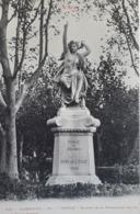 Carte Postale De Narbonne, Statue De La Promenade Neuve, « 12 » - Narbonne