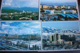 KAZAKHSTAN. ALMATY Capital.  10 Postcards Lot - Old Pc 2010s - Kazakhstan