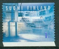 Bm Finland 2006 MiNr 1817 Used | Snow Art (ice Sculpture), Wall (Kimmo Frosti) - Finland