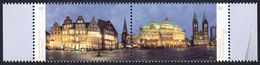 2014Germany3083-3084PaarArchitecture - Unused Stamps
