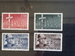 Mi.423/426** General George Smith Patton. - Luxemburg
