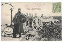 Bataillon De Royal-Artillerie, Régiment De Besançon, 3° D'ARTILLERIE. Toi Qui Sus Tant De Fois Affronter La Mitraille... - Regiments