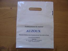 SAC PLASTIQUE Ets Docteur AUZOUX  9 Rue De L'Ecole De Medecine 75006 PARIS - Wissenschaft & Technik