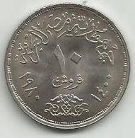 Egypt 10 Piastres 1980. FAO KM#505 High Grade - Egypte