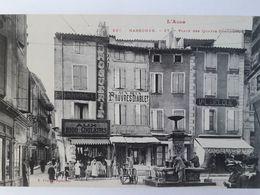 Carte Postale De Narbonne, Place Des 4 Fontaines, Magasin, Rémouleur,« 13 » - Narbonne