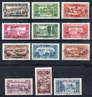 Grand Liban Gross-Libanon Y&T (Maury) 63* - 74* - Gross-Libanon (1924-1945)