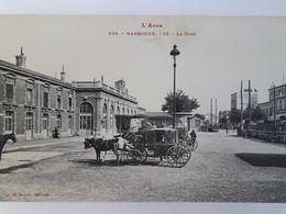 Carte Postale De Narbonne, Belle Animation, La Gare, Voiture à Cheval, « 13 » - Narbonne