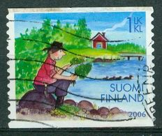 Bm Finland 2006 MiNr 1807 Used | Summer, Man Seated By Lake - Finland