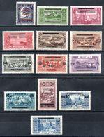 Grand Liban Gross-Libanon Y&T (Maury) 84* - 97* (83* - 96*) - Gross-Libanon (1924-1945)