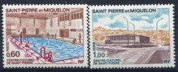 Saint Pierre Et Miquelon     431/432 ** Centre Culturel De St Pierre - St.Pierre & Miquelon