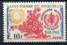 Saint Pierre Et Miquelon     379 **  OMS - St.Pierre & Miquelon