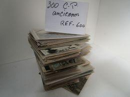 LOT  DE 300 CARTES  POSTALES  ANCIENNES  DIVERS  FRANCE  N600 - 100 - 499 Cartes