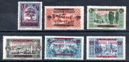 Grand Liban Gross-Libanon Y&T (Maury)  116* (114), 117* (120), 118(*) (115), 119* (116a), 120* (118), 121* (119) - Gross-Libanon (1924-1945)