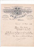 18-A.Vincent..Manufacture De Porcelaine...Vierzon..(Cher)..1904 - Other