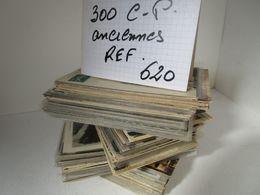 LOT  DE 300 CARTES  POSTALES  ANCIENNES  DIVERS  FRANCE  N620 - 100 - 499 Cartes