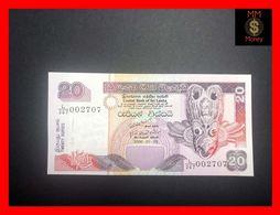 Ceylon - Sri Lanka  20 Rupees  3.7.2006  P. 109 UNC - Sri Lanka