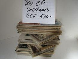 LOT  DE 300 CARTES  POSTALES  ANCIENNES  DIVERS  FRANCE  N630 - 100 - 499 Cartes