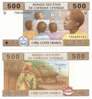 CENTRAL AFRICAN STATES   U: Cameroon    500 Francs      P-206Ue       2002 (2017)     UNC - États D'Afrique Centrale