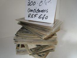 LOT  DE 300 CARTES  POSTALES  ANCIENNES  DIVERS  FRANCE  N640 - 100 - 499 Cartes
