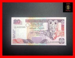 Ceylon - Sri Lanka  20 Rupees  1.7.2004  P. 109 UNC - Sri Lanka