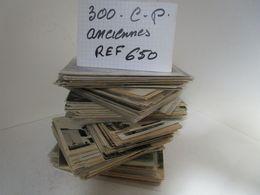 LOT  DE 300 CARTES  POSTALES  ANCIENNES  DIVERS  FRANCE  N650 - 100 - 499 Cartes