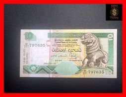 Ceylon - Sri Lanka  10 Rupees  10.4.2004  P. 108 UNC - Sri Lanka