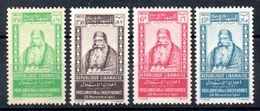 Grand Liban Gross-Libanon Y&T (Maury) 176** - 179** - Gross-Libanon (1924-1945)