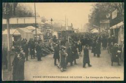 FRANCE - LYON - Foire Internationale De Lyon- Le Groupe De L'Agriculture.  Carte Postale - Ferias
