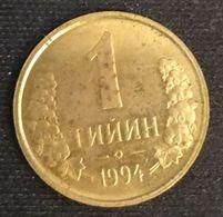 OUZBEKISTAN - UZBEKISTAN - 1 TIYIN 1994 - KM 1 - Uzbekistan
