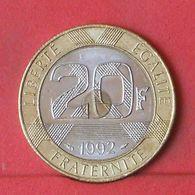 FRANCE 20 FRANCS 1992 -  (Nº36361) - France