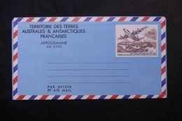 T.A.A.F. - Aérogramme Non Circulé - L 64042 - Entiers Postaux