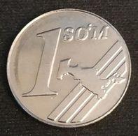OUZBEKISTAN - UZBEKISTAN - 1 SO'M 2000 - KM 12 - СЎМ - CYM - Uzbekistan