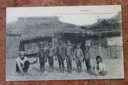 ANNAM (VIET NAM / INDOCHINE) - ENVIRONS DE TOURANE - PETITS ENFANTS ANNAMITES - Viêt-Nam