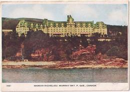Manoir Richelieu, Murray Bay P. Que., Canada - Québec - Les Rivières