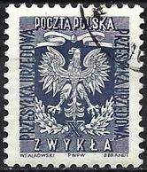 Poland 1954 - Mi D 27A - YT S 28 ( Official : National Arms ) - Officials