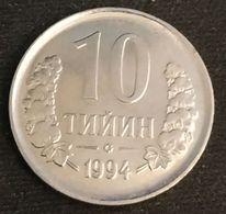 OUZBEKISTAN - UZBEKISTAN - 10 TIYIN 1994 - KM 4 - Uzbekistan