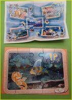 KINDER PUZZLE POISSONS TT318 - Puzzles