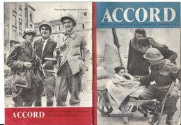 GUERRE 39/45 . RESISTANCE . ACCORD N°8 - Livres, BD, Revues