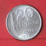 BRAZIL 20 CENTAVOS 1976 -    KM# 579,1a - (Nº36385) - Brésil