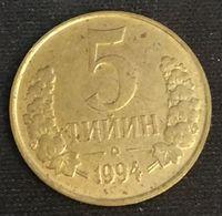 OUZBEKISTAN - UZBEKISTAN - 5 TIYIN 1994 - KM 3 - Uzbekistan