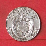 PANAMA 1/4 BALBOA 1966 -    KM# 11,2a - (Nº36386) - Panamá