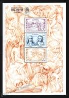 St Vincent 1999 Yvert 3747-49, Famous People. Writer, Von Goethe - Miniature Sheet - MNH - St.Vincent (1979-...)