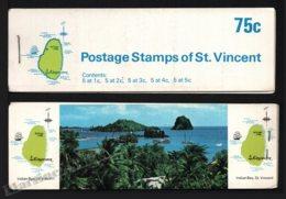 St Vincent 1969-73 Yvert C263 Type 1, Fauna. Birds - Booklets (Indian Bay) - MNH - St.Vincent (1979-...)