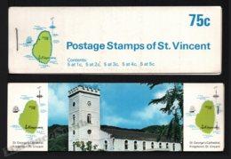 St Vincent 1969-73 Yvert C263 Type 3, Fauna. Birds - Booklets (St George Cathedral) - MNH - St.Vincent (1979-...)