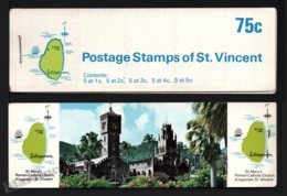 St Vincent 1969-73 Yvert C263 Type 4, Fauna. Birds - Booklets (St Mary Church) - MNH - St.Vincent (1979-...)