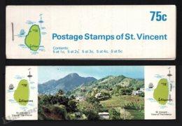 St Vincent 1969-73 Yvert C263 Type 6, Fauna. Birds - Booklets (St Vincent Interior) - MNH - St.Vincent (1979-...)