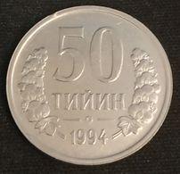 OUZBEKISTAN - UZBEKISTAN - 50 TIYIN 1994 - KM 6 - Uzbekistan