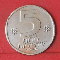 ISRAEL 5 LIROT 1979 -    KM# 90 - (Nº36394) - Israel